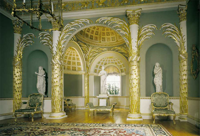 Wedding venue at London's Spencer House, rooms available feature the Palm Room