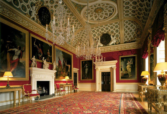 Historic house tour of the Great Room at magnificent event and wedding venue Spencer House in London