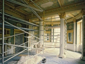 Spencer House restoration of the Palm Room