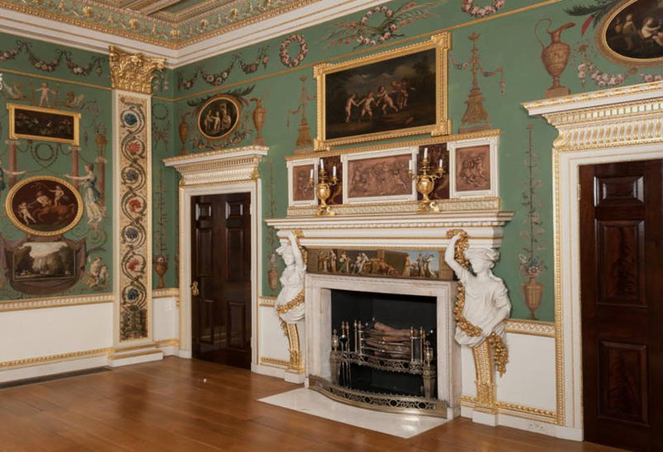 Spencer House neo-classical interior