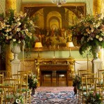 Wedding venues in London, the spectacular dining hall at Spencer House