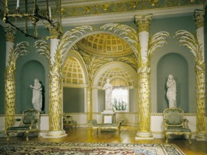 Tour London's Spencer House, historic house tour featuring the Palm Room